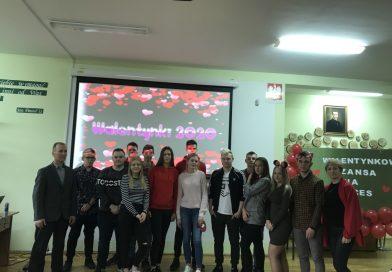 14 lutego 2020  Walentynkowa  atmosfera nie ominęła  naszej szkoły !