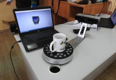 Lekcja edukacyjna dotyczącą druku 3D w SP nr. 3 w Działdowie